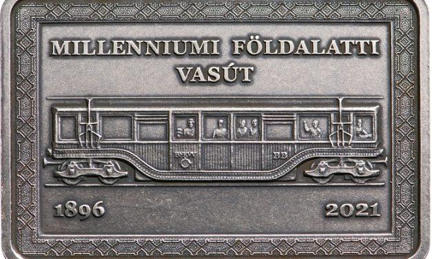 Különleges emlékérmén a 125 éves Kisföldalatti