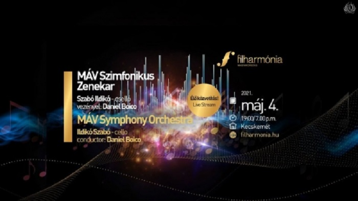 Élő koncertet adott a MÁV Szimfonikus Zenekar
