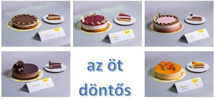 Öt torta jutott a 10. Magyarország Cukormentes Tortája verseny döntőjébe