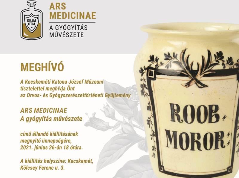 Ars medicinae – A gyógyítás művészete