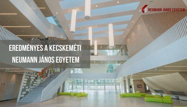 Eredményes a kecskeméti Neumann János Egyetem