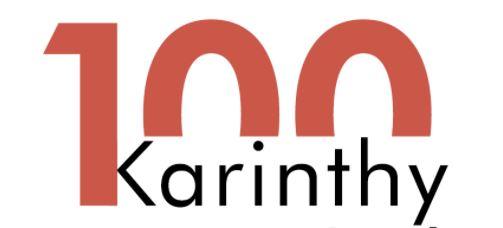 """Karinthy100 – Karinthy Ferenc """"Cini"""" 100. születésnapja"""