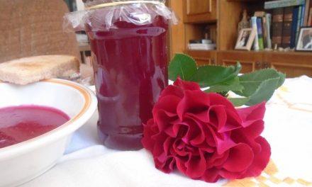Rózsaszirom zselé – a nyár ajándéka