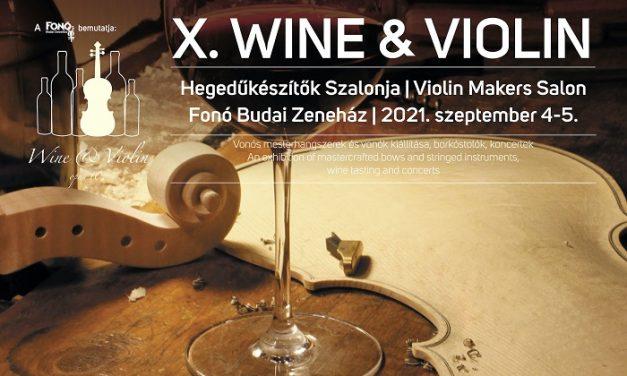 Tíz éves a Wine and Violin Hegedűkészítők Szalonja