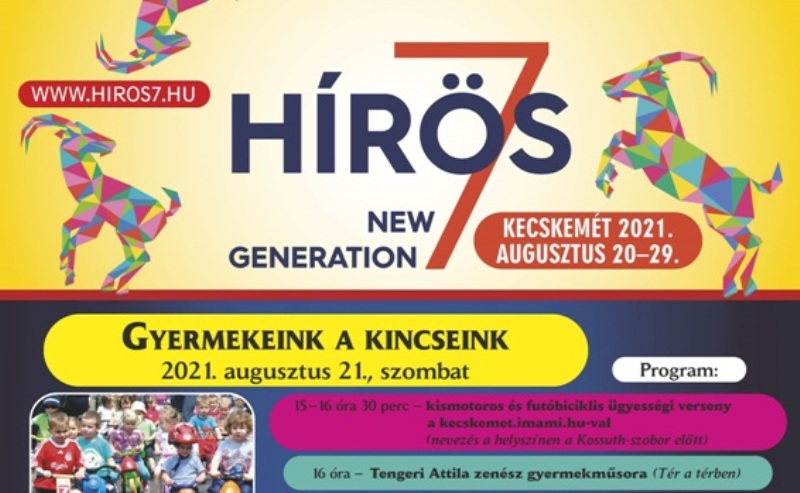 Hírös Hét 2021 – Családcentrikus programok