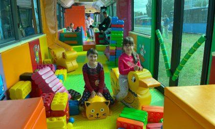 Játszóbusz – A BKV legjátékosabb járműve