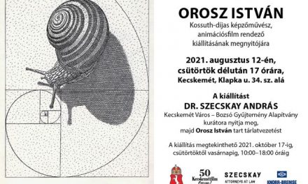 Orosz István kiállítása a Bozsó Gyűjteményben