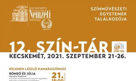 SZÍN-TÁR – A jövő színművészei Kecskeméten
