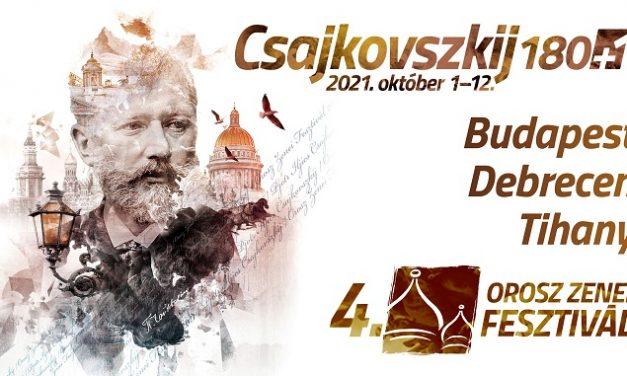 Csajkovszkij 180+1 – IV. Orosz Zenei Fesztivál