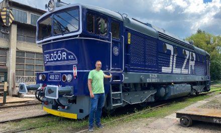 Búvár néven új vasúti mozdonyt helyeztek üzembe